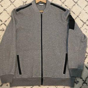 Large Calvin Klein Zip up Sweater